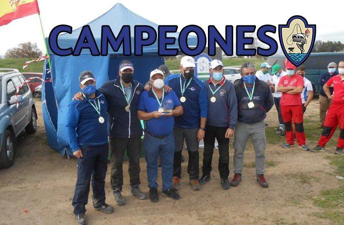 ¡Campeones del Provincial de Agua Dulce Liga de Clubs de Sevilla!
